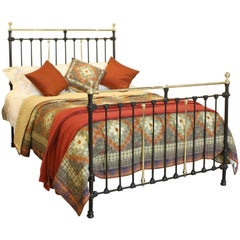 Black Brass and Iron Bed, MK129