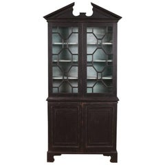 George III Painted Bookcase