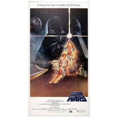Original Large Size Three-Sheet Classic Movie Poster for the 1977 Film Star Wars