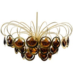 Italian Chandelier in the Style of Sciolari