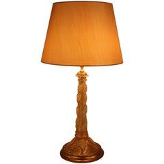 Midcentury Murano Glass Table Lamp