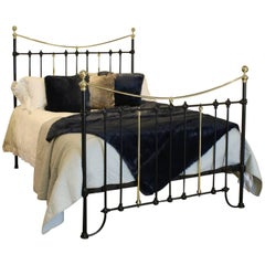 Black Brass and Iron Bed, MK132