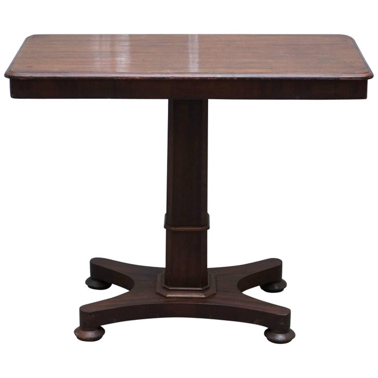 Rare Victorian Reading Table Height and Tilt Adjustable Stands over Bed Console
