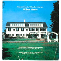 Sotheby's: Property from the Collection of the Late Gilbert Verney, 1979