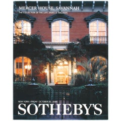 Sotheby's Mercer House, the Collection of the Late James A. Williams, 2000