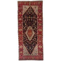 Handmade Antique Caucasian Karabagh Rug, 1880s