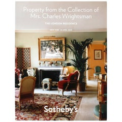 Sotheby's Property from Collection of Mrs. Charles Wrightsman, London Residence