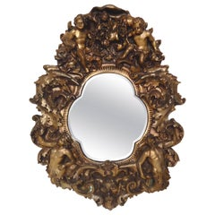 Large Baroque Style Mirror