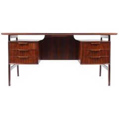 Oman Jun Desk in Rosewood