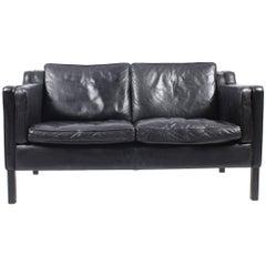 Danish Two-Seat Sofa