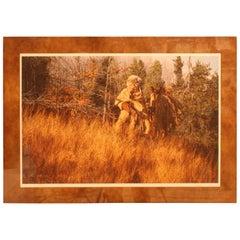 "Paul Calle ""Through the Tall Grass"" Signed LE Artist Print # 68/950"