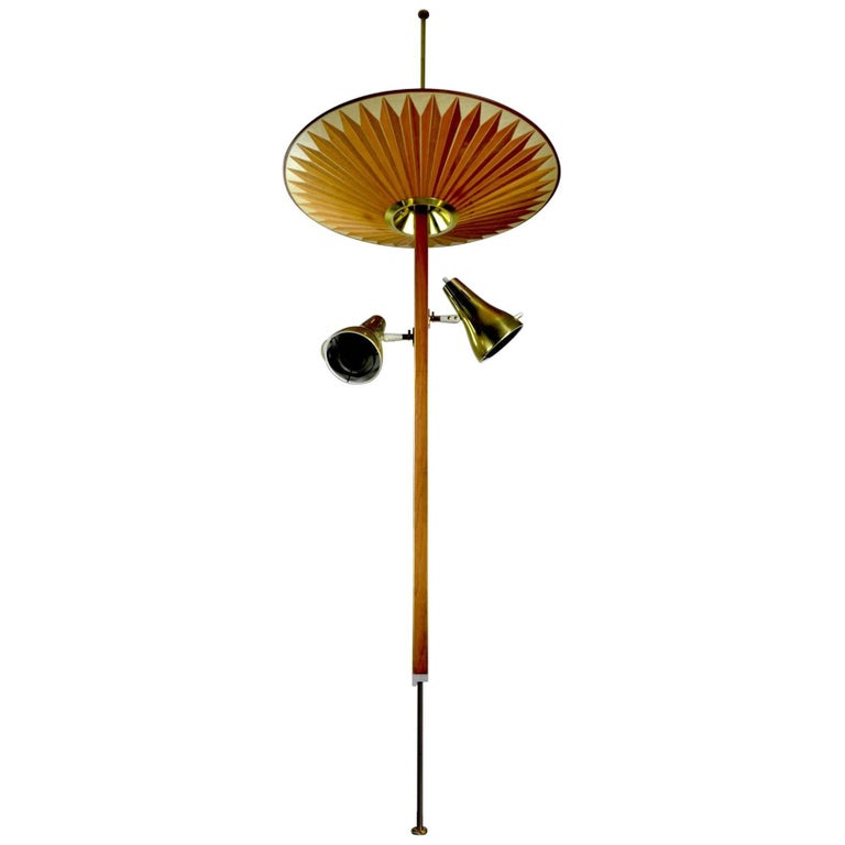 Tension pole floor lamp by thurston for lightolier for sale at 1stdibs tension pole floor lamp by thurston for lightolier for sale aloadofball Choice Image