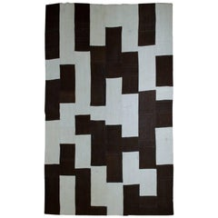 Handmade Vintage Turkish Patchwork Rug, 1970s, 1B532