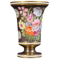 Regency Period Spode Porcelain Spill Vase