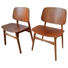 Børge Mogensen Model 155 'Søborg' Dining Chairs