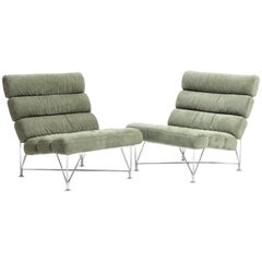 Nice Pair of Spider Lounge Chairs by DUX