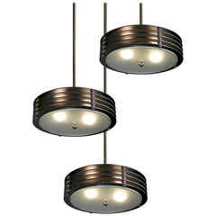 Round Industrial Vented Pendent