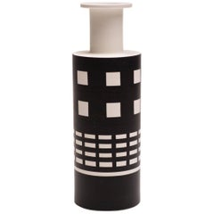 Rocchetto Ceramic Vase Designed by Ettore Sottsass