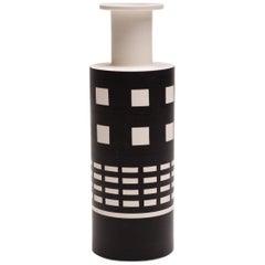 Rocchetto Ceramic Vase Designed by Ettore Sottsass