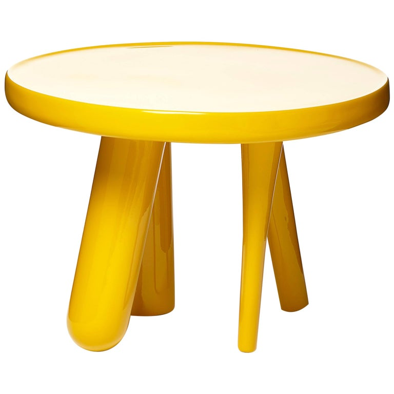 Moooi Elements 002 Table by Jaime Hayon in Lacquered Fiberglass For Sale