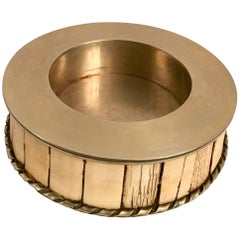 J Antony Redmile Brass and Bone Champagne Wine Coaster