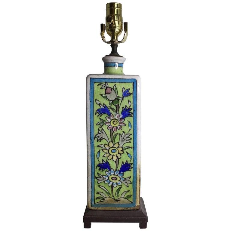 Persian Ceramic Table Lamp