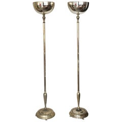 Pair of Elegant Torcheres Hollywood Regency