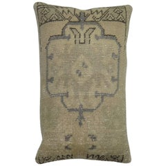 Vintage Rug Pillow from Turkey