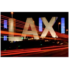 "Color Print ""Entrance to Los Angeles International Airport"" by Gregg Felsen"