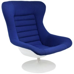 20th Century Vintage Swivel Lounge Chair by Lurashell, 1960s