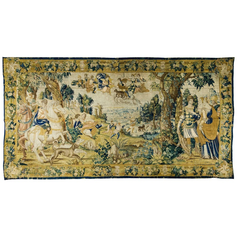 Late 16th Century Audenarde Mythological Tapestry