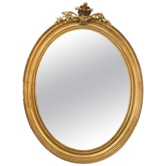 18th Century Mirror with Golden Precious Frame