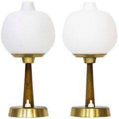 Scandinavian Modern Table Lamps by Hans Bergström for Ateljé Lyktan, Sweden