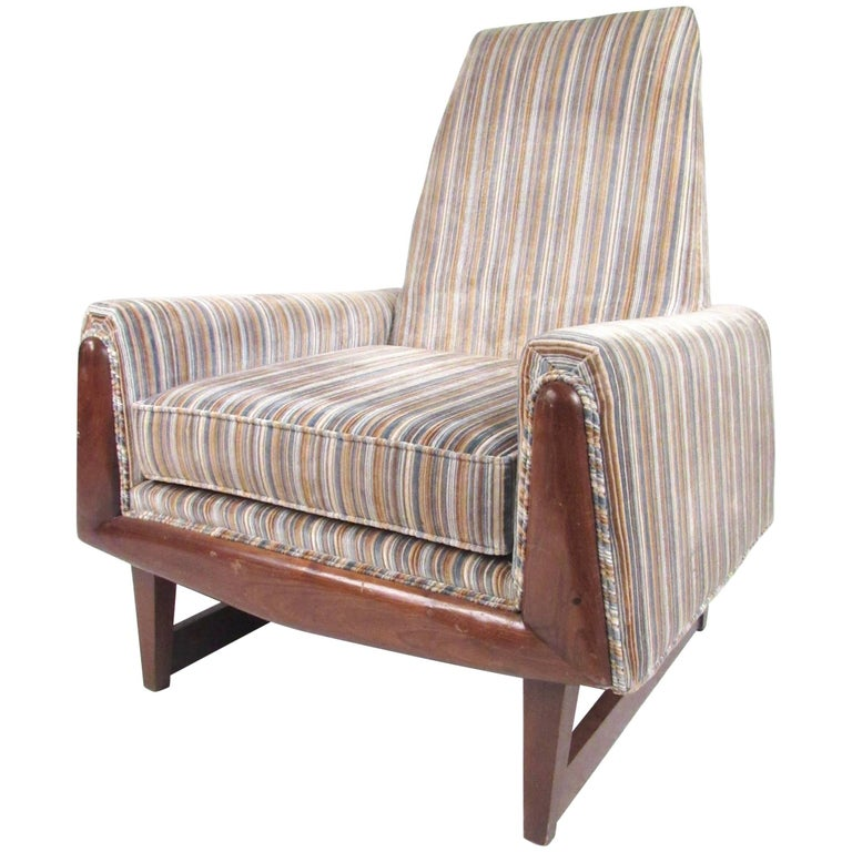 Vintage Modern Adrian Pearsall Style Lounge Chair For Sale