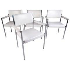 Set of Mid-Century Modern Dining Chairs by John Stuart Inc