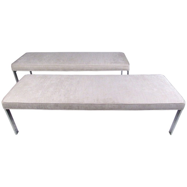 Contemporary Modern Upholstered Bench Seat