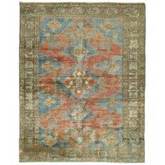 Antique Persian Malayer Square Rug