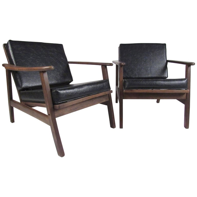 Vintage Modern Lounge Chairs
