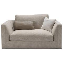 Neutral Beige Armchair by B&B Italia