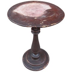 Petite Baluster Base Side Table