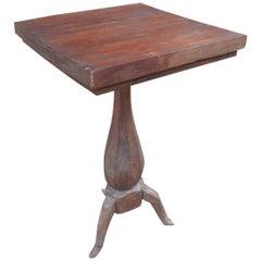 Tripod Base Primitive Table