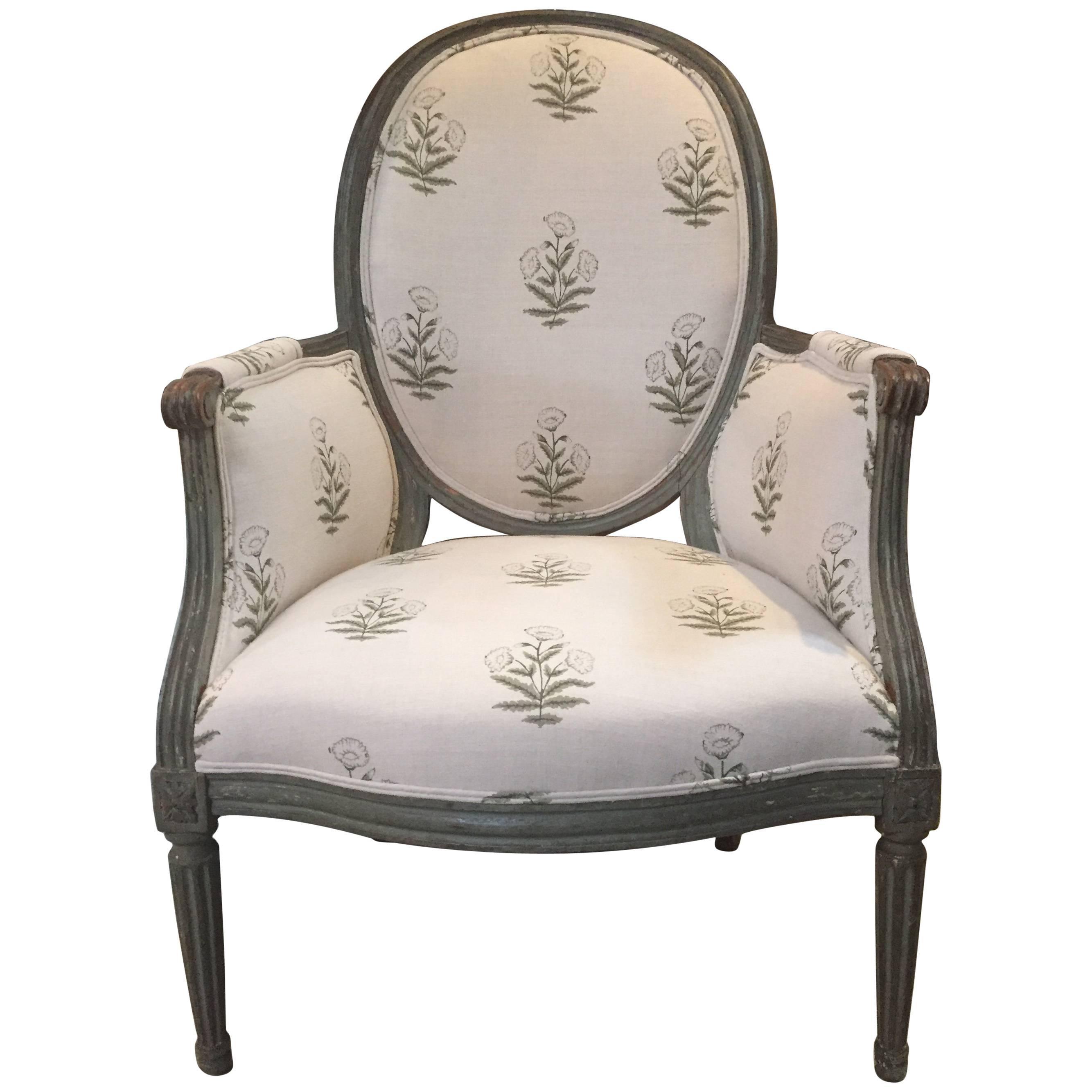 19th Century Louis XVI Bergere