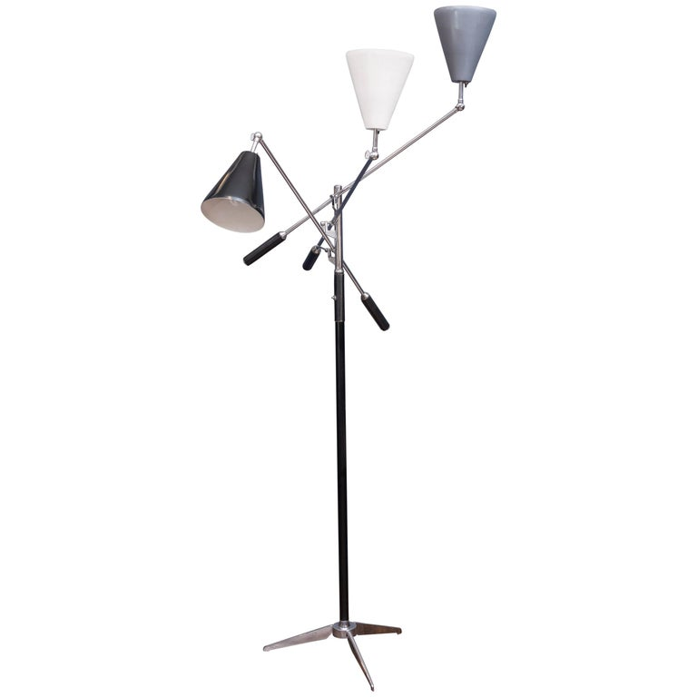 Arredoluce Triennale Floor Lamp For Sale