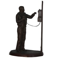 Man at Payphone by Andre Harvey