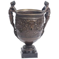 Antique Grand Tour Barbedienne Style Bronze Urn, 19th Century