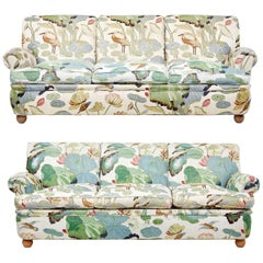 Pair of 20th Century Swedish Sofas by Norell