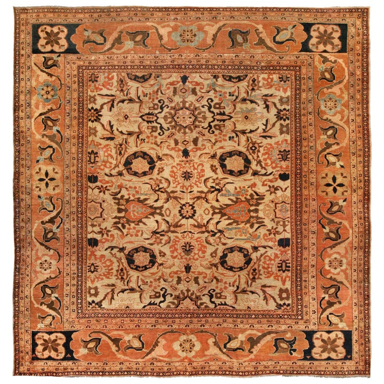 Antique Persian Sultanabad Carpet