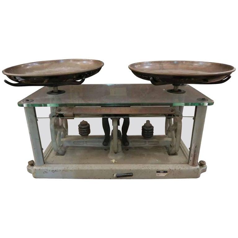 1950s Antique Torsion Balance Co. Scale