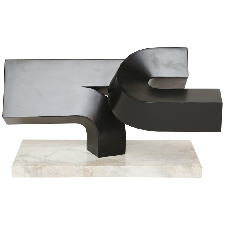 Working model attributed to Clement Meadmore, 1980s, offered by Galere