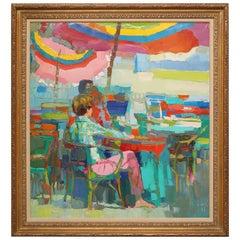 Nicola Simbari Painting
